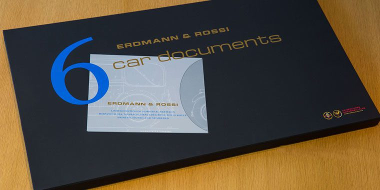 Erdmann & Rossi - 6 car documents